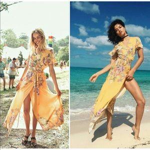 Spell & The Gypsy Blue Skies Wrap Dress UFT